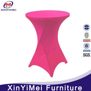 Wholesale Cheap 30 Inches Round Stretch Cocktail Party Round Tablecloth pictures & photos