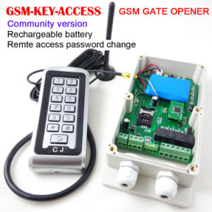 GSM Version Gate and Door Access Controller, Remote Keypad Password Change
