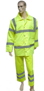 Reflective Safety Suit with Jacket and Pants pictures & photos