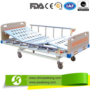 Simple Manual Bed Double Crank with Simple Operation pictures & photos