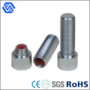 Carbon Steel Blue Zinc Plated Thru Bolt with Nut and Pipe for Special Use pictures & photos