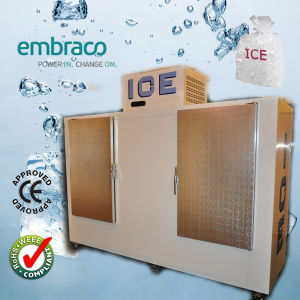 Bagged Ice Storage Bin with Embraco Compressor (DC-1000) pictures & photos