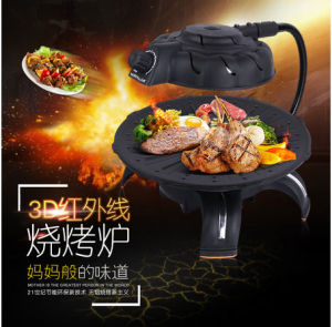 Indoor Korean BBQ Barbecue Grill (ZJLY) pictures & photos