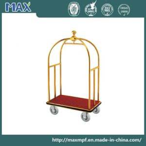 High Quality Hotel Bellman Luggage Cart pictures & photos