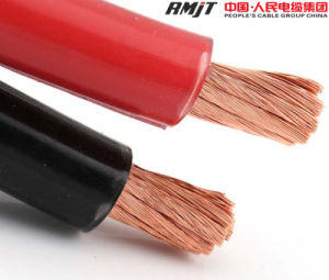 CCA Rubber Insulation Electric Welding Cable pictures & photos
