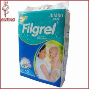 Wholesale Cheap Disposable Baby Diaper with Clothlike Backsheet pictures & photos