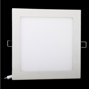 18W 1600lm SMD2835 LED Pure White AC 86-265V Ultra Thin Square Ceiling Panel Light Wall Recessed Down Lamp pictures & photos