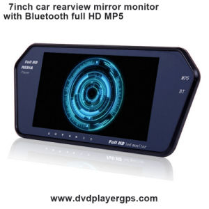 Support Bluetooth MP5 Car Rearview Mirror with Full HD pictures & photos
