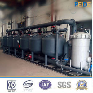 Shallow Medium Sand Filter for Living Water Filtration pictures & photos