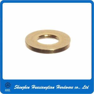 M3 M4 M5 M6 M8 M10 Brass Flat Washer pictures & photos