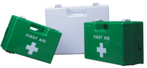 Newly Designed FDA and CE Approved First Aid Kit Box pictures & photos