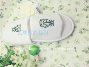 Factory Hot Selling Nap Cloth Disposable Slipper Hotel Open Toe Slipper