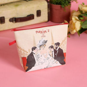 Hot Selling Beauty Paris Stylish PU Cosmetic Bag pictures & photos