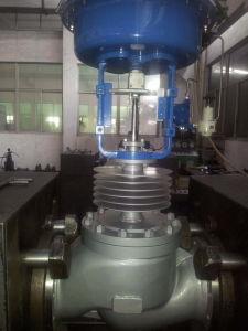DIN Flow Control Valve in Flange End Dn250 Pn16