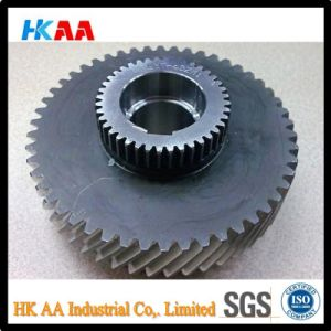 Custom Machining CNC Hard Teeth Helical Gear, Double Helical Gear pictures & photos