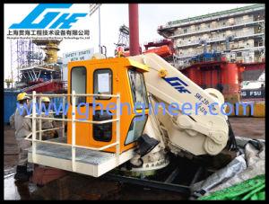 Ship Deck Hydraulic Telescopic Offshore Crane 5t@11m pictures & photos