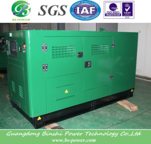 Super Silent Gas Generator with Soundproof Canopy pictures & photos