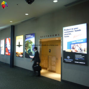 Airport Backlit Graphic Printing LED Light Box pictures & photos