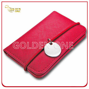Superior Quality Metal PU Leather Business Name Card Holder pictures & photos