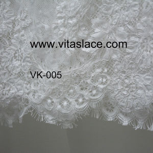 Wholesale Polyester Lace for Wedding Clothes Vk-005