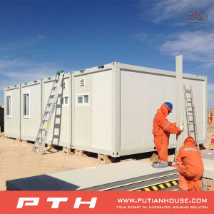 Modular 20 Feet Prefabricated Container House for Dormitory, Single Department pictures & photos