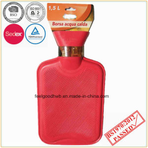 High Quality 1000ml Red Hot Water Bottle pictures & photos