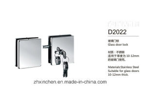 Xc-D2022 High Quality Furniture Hardware Glass Door Lock pictures & photos