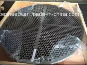 Ss317L Tube Sheet for Heat Exchanger pictures & photos