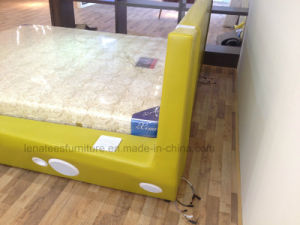 C023 Foshan Bedroom Furniture Bed with LED Light pictures & photos
