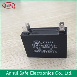 Cbb61 4UF 450V for AC Capacitor pictures & photos
