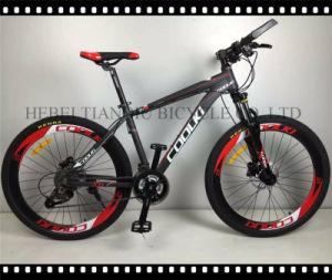 China Aluminum Alloy Disc Brake Suspension Mountain Bicycle pictures & photos