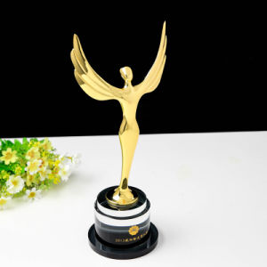 Customized Angel Crystal Trophy Oscar Trophy Award - Free Engraving pictures & photos