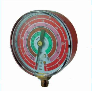 Refrigeration Refrigerant 800psi/Bar Pressure Gauge pictures & photos