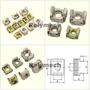 Stainless Steel/Carbon Steel Square Cage Nut pictures & photos