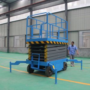 Cheap Price Stationary Lifting Table and Ce Certified Scissor Lift pictures & photos