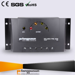 12V 24V Solar Battery System 10A 20A 30A PWM Solar Power Charger Controller pictures & photos