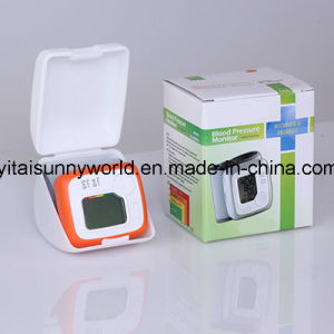 Automatic Arm Type Digital Blood Pressure Monitor  with Time & Date (SW-DBP2003CS) pictures & photos