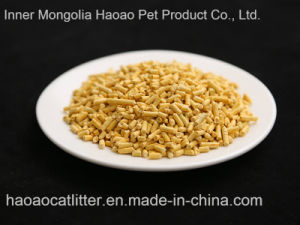Tofu Cat Litter (orange scent) -Clumping and Dust Less (HA-MS-DFO01) pictures & photos