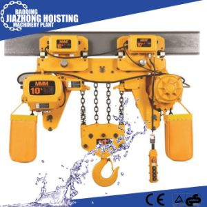 China Factory Supply 1ton 12metres Electric Chain Hoist 380V