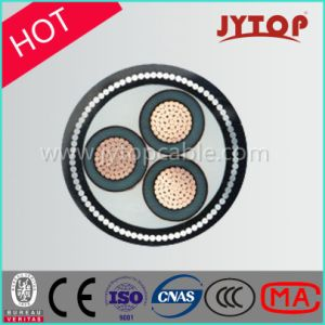 11kv 3core Stranded Compacted XLPE Screened Cable for Underground pictures & photos
