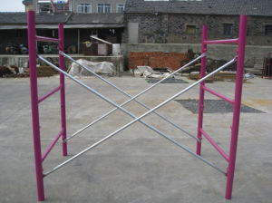 7′x4′ Galvanized Cross Brace for Frame Scaffolding pictures & photos