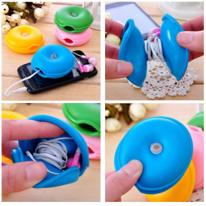 Turtle Silicone Cable Winder, Earphone Cable Winder pictures & photos