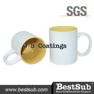 Js Coatings Sublimation Mugs 11oz Two-Tone Color Mugs - Orange B11naa-04 pictures & photos