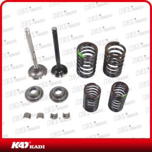 Motorcycle Parts Intake Exhaust Valve Set for Eco100 pictures & photos