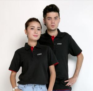 Custom Plain Polo T-Shirt 100% Cotton T-Shirts pictures & photos