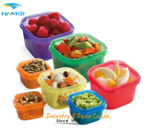 Healthy Living BPA Free 7 Piece Multi-Colored, Color Coded Portion Control Container Kit, Leak Proof, 21 Day Planner pictures & photos
