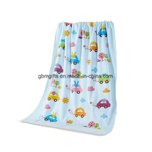 100% Cotton Gauze Soft Water Sponge Three Layers Baby Bath Towel