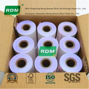 2 Ply Carbonless Paper Roll for Impact DOT Matrix Printer pictures & photos