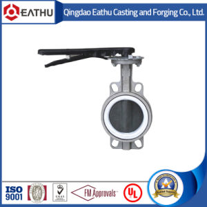 Cast Steel Wafer Type Butterfly Valve pictures & photos