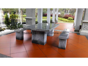 Granite Long Table for Garden Decoration pictures & photos